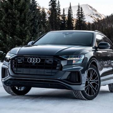Электротонировка OnGlass Exclusive для Audi Q8