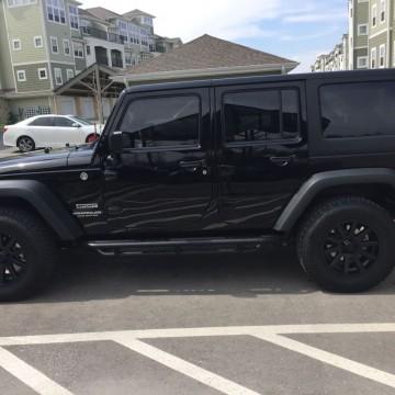 Электротонировка OnGlass Premium для Jeep Wrangler