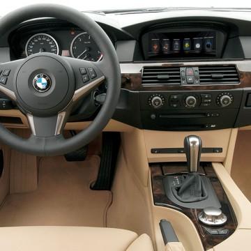 Мультимедийный навигационный блок Carsys для BMW 5 series Е60
