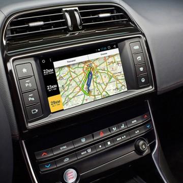 Мультимедийный навигационный блок Carsys для Jaguar XE