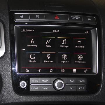 Мультимедийный навигационный блок Carsys для Volkswagen Touareg