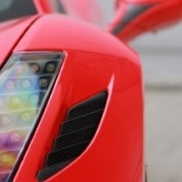Карбоновая вентиляционная решетка переднего бампера для Ferrari 458 Italia