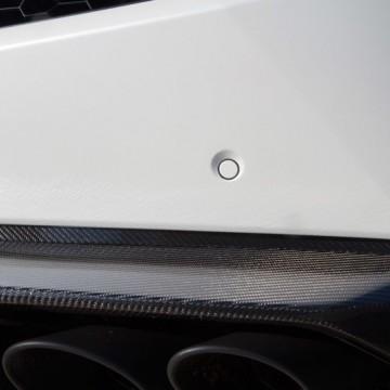 Карбоновая верхняя центральная часть переднего спойлера Novitec Style для Lamborghini Huracan
