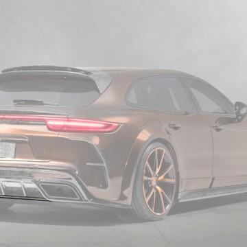 Карбоновая видимая плата диффузора Mansory Style для Porsche Panamera