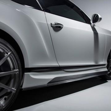 Карбоновые боковые юбки Vorsteiner Style для Bentley Continental