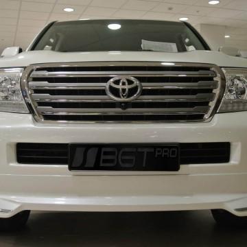 Накладка на передний бампер BGT для Toyota Land Cruiser 200
