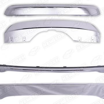 Накладки на бамперы хромовые GBT для BMW X5 F15
