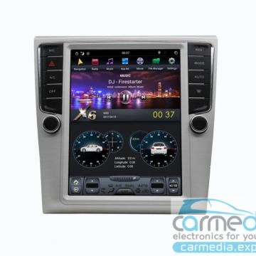 Штатное головное устройство Carmedia ZF-1012-DSP-X6 Tesla-Style для Volkswagen Passat, Passat CC
