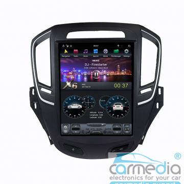 Штатное головное устройство Carmedia ZF-1023-DSP-X6 Tesla-Style для Opel Insignia
