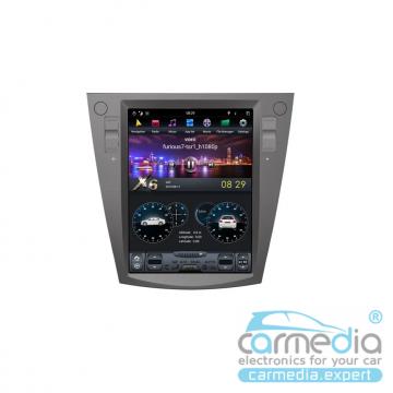 Штатное головное устройство Carmedia ZF-1072-DSP-X6 Tesla-Style для Subaru Forester, XV, Impreza