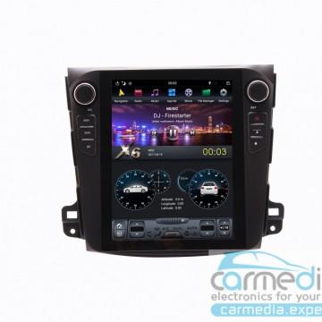 Штатное головное устройство Carmedia ZF-1106-DSP-X6 Tesla-Style для Mitsubishi Outlander XL, Peugeot 4007, Citroen C-Crosser