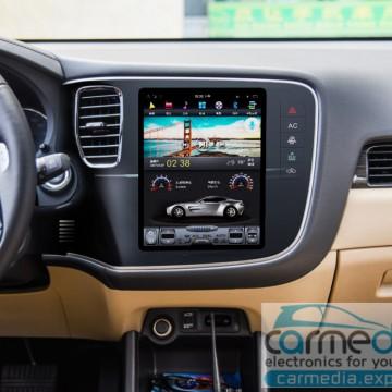 Штатное головное устройство Carmedia ZF-1109-DSP-X6 Tesla-Style для Mitsubishi Outlander