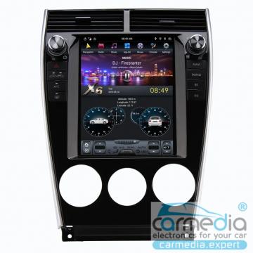 Штатное головное устройство Carmedia ZF-1139-DSP-X6 Tesla-Style для Mazda 6