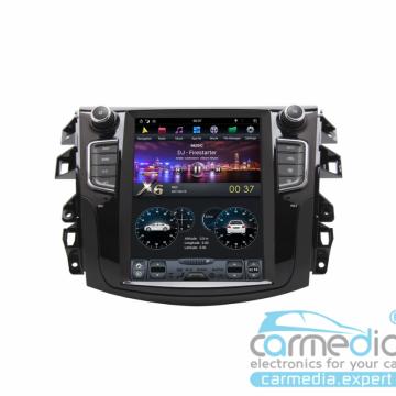 Штатное головное устройство Carmedia ZF-1158-DSP-X6 Tesla-Style для Nissan Navara