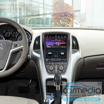 Штатное головное устройство Carmedia ZF-1227-DSP-X6-64 Tesla-Style для Opel Astra J