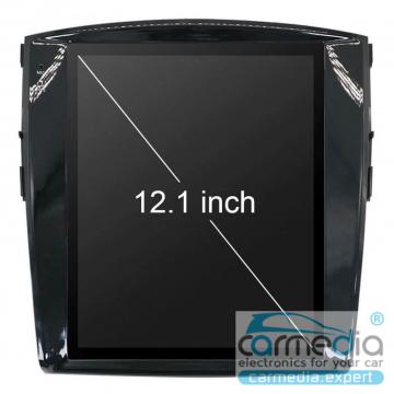 Штатное головное устройство Carmedia ZF-1302-DSP-X6 Tesla-Style для Mitsubishi Pajero IV