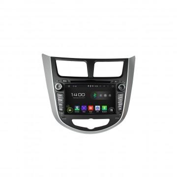 Головное устройство Carmedia KD-7025 для Hyundai Solaris