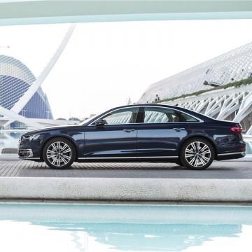 Шторы Spezo двухслойные для Audi A8
