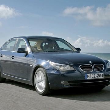Шторы Spezo двухслойные для BMW 5 series