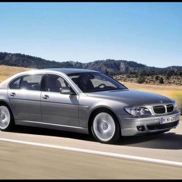 Шторы Spezo двухслойные для BMW 7 series F01