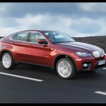 Шторы Spezo двухслойные для BMW X6