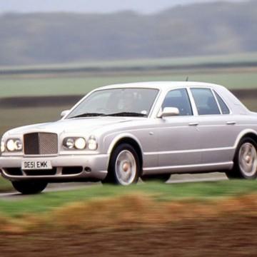 Шторы Spezo двухслойные для Bentley Arnage