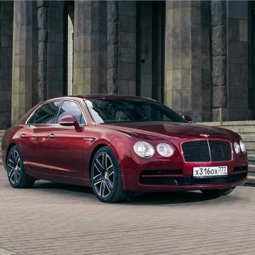Шторы Spezo двухслойные для Bentley Continental