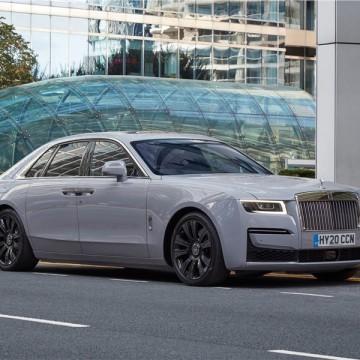 Шторы Spezo однослойные для Rolls-Royce Ghost