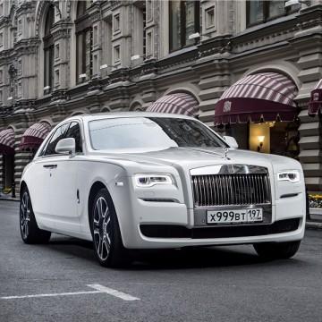 Шторы Spezo двухслойные для Rolls-Royce Ghost