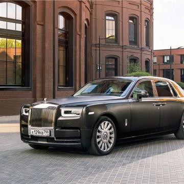 Шторы Spezo однослойные для Rolls-Royce Phantom