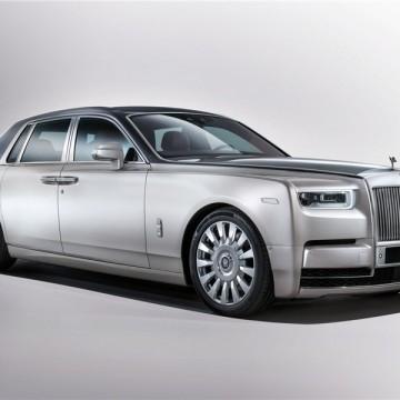 Шторы Spezo двухслойные для Rolls-Royce Phantom