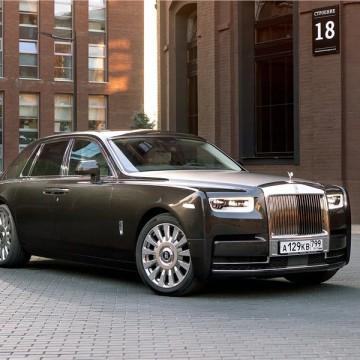 Шторы Spezo двухслойные для Rolls-Royce Phantom Extended wheelbase