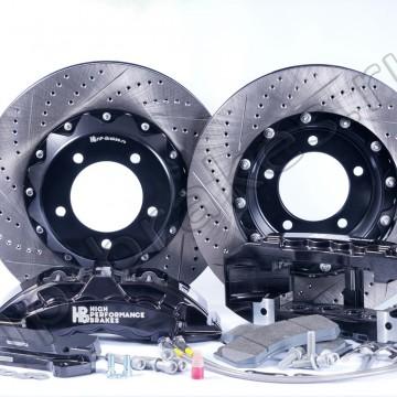 Тормозная система HP Brakes на переднюю ось, D22, 8 поршней, диск 430х36 мм