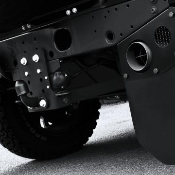 Брызговики системы выхлопа Kahn Design для Land Rover Defender