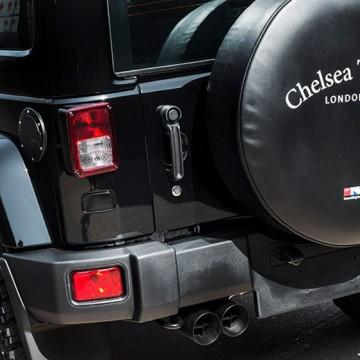 Выхлопная система Kahn Design для Jeep Wrangler
