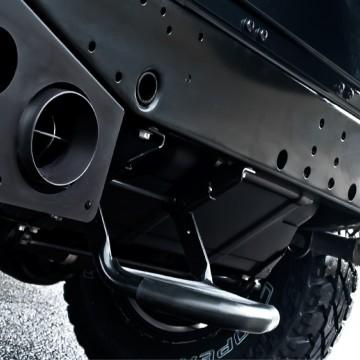 Выхлопная система Kahn Design для Land Rover Defender 110