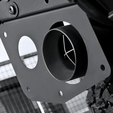 Выхлопная система Kahn Design для Land Rover Defender 90