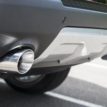 Выхлопная система Kahn Design для Land Rover Range Rover Sport 2014 с бензиновым двигателем