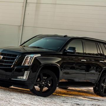 Электротонировка OnGlass Exclusive для Cadillac Escalade