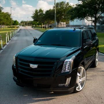 Электротонировка лобового стекла OnGlass для Cadillac Escalade