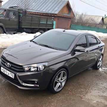 Электротонировка OnGlass Exclusive для Lada Vesta