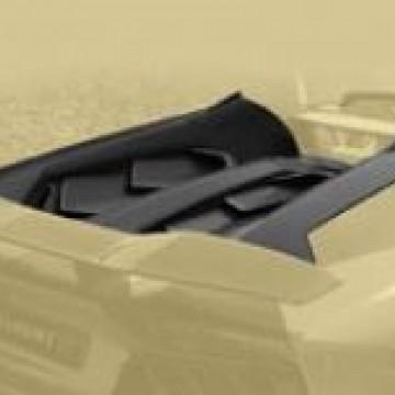 Карбоновая крышка двигателя (Cabrio) Mansory Style 2 для Lamborghini Aventador