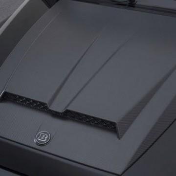 Карбоновая накладка на капот с LED для Mercedes G63 AMG w464
