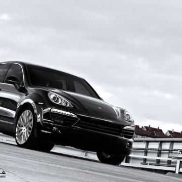 Обвес Kahn Design Supersport Wide-Track для Porsche Cayenne