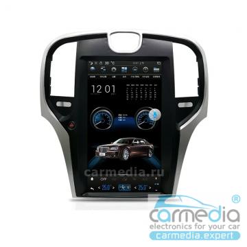 Штатное головное устройство Carmedia NH-1301-P6-8 Tesla-Style для Chrysler 300C