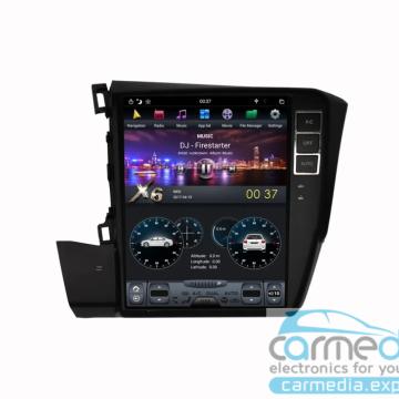 Штатное головное устройство Carmedia ZF-1030-DSP-X6 Tesla-Style для Honda Civic IX