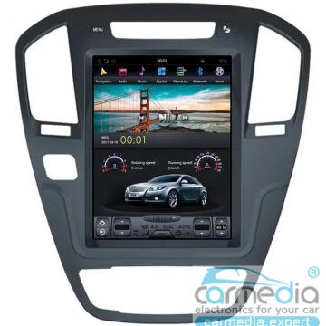 Штатное головное устройство Carmedia ZF-1069BL-DSP-X6 Tesla-Style для Opel Insignia
