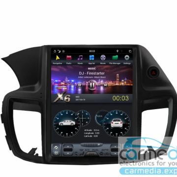 Штатное головное устройство Carmedia ZF-1251-DSP-X6 Tesla-Style для Honda Accord IX