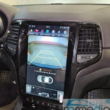 Штатное головное устройство Carmedia ZF-1823B-DSP-X6 Tesla-Style для Jeep Grand Cherokee