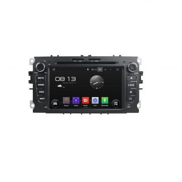 Головное устройство Carmedia KD-7053-P3-7 для Ford Focus, Mondeo, S-max, Galaxy, Tourneo, Transit